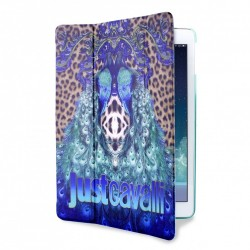 Cover JustCavalli iPad Air Leopard Peacock