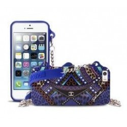 Cover JustCavalli IPhone 5/5s Clutch Blue